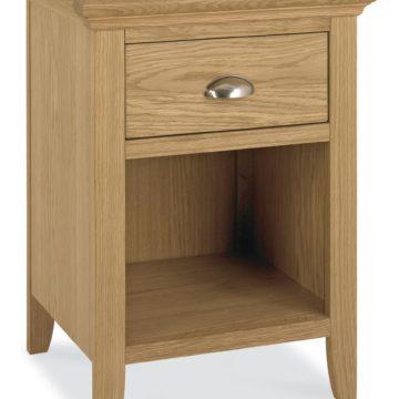 Hampstead Oak 1 Drawer Nightstand