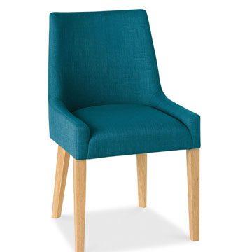 Ella Oak Scoop Back Chair A Pair