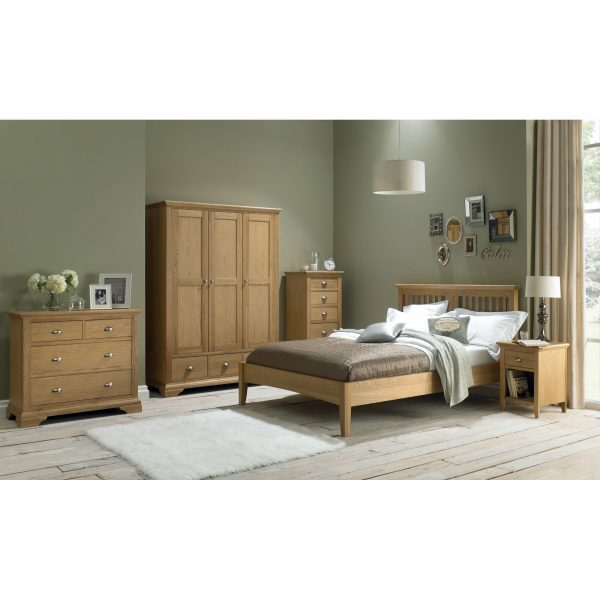 Hampstead Oak 2 x 2 Drawer Chest