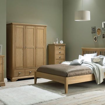 Hampstead Oak 3 x 4 Drawer Chest
