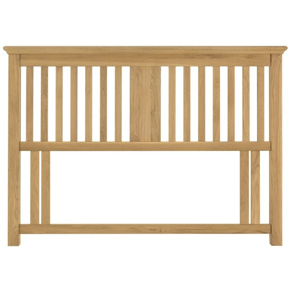 Hampstead Oak King Size Headboard