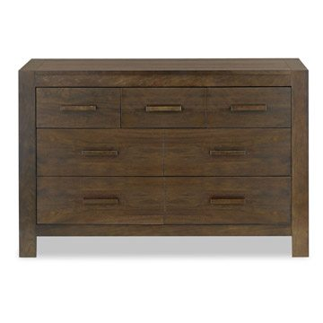 Lyon Walnut 4 Over 3 Drawer Dresser