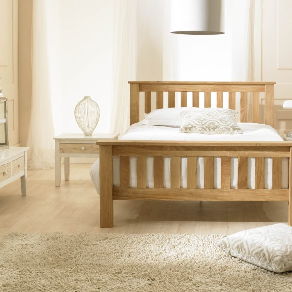 Richmond Solid Oak Bed