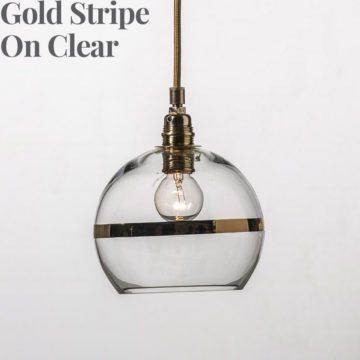 Rowan Pendant Lamp 15cm Stripe