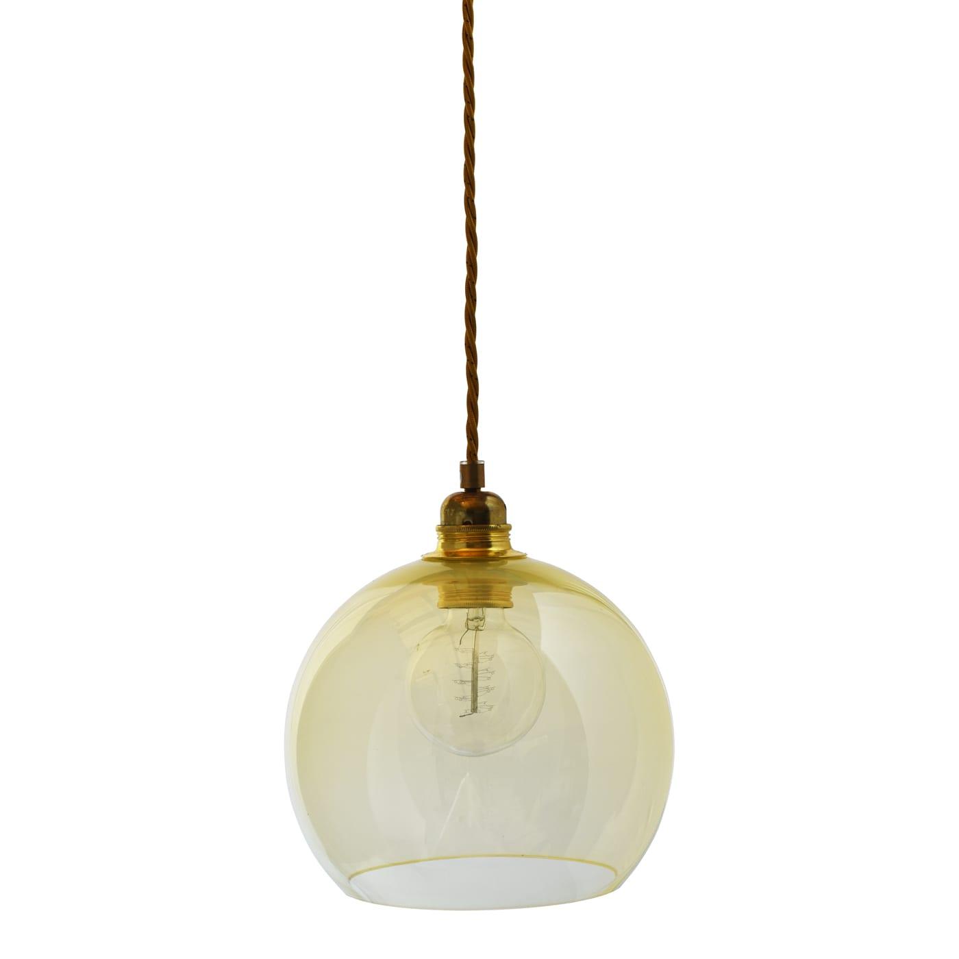 Rowan pendant lamp, alabaster, 22cm 1