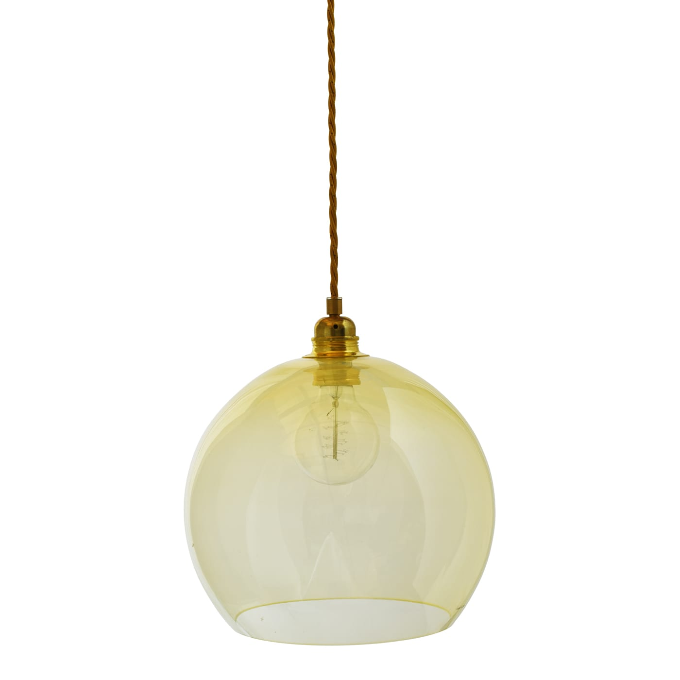 Rowan pendant lamp, alabaster, 28cm 1