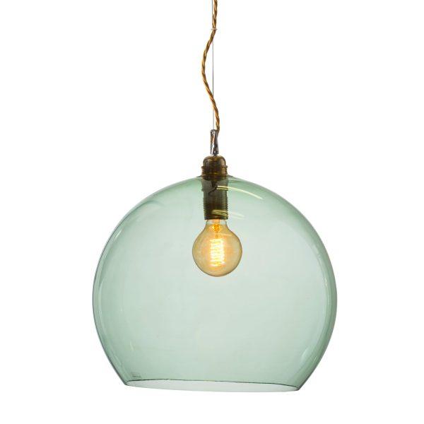 Rowan pendant lamp, forest green, 39cm 1