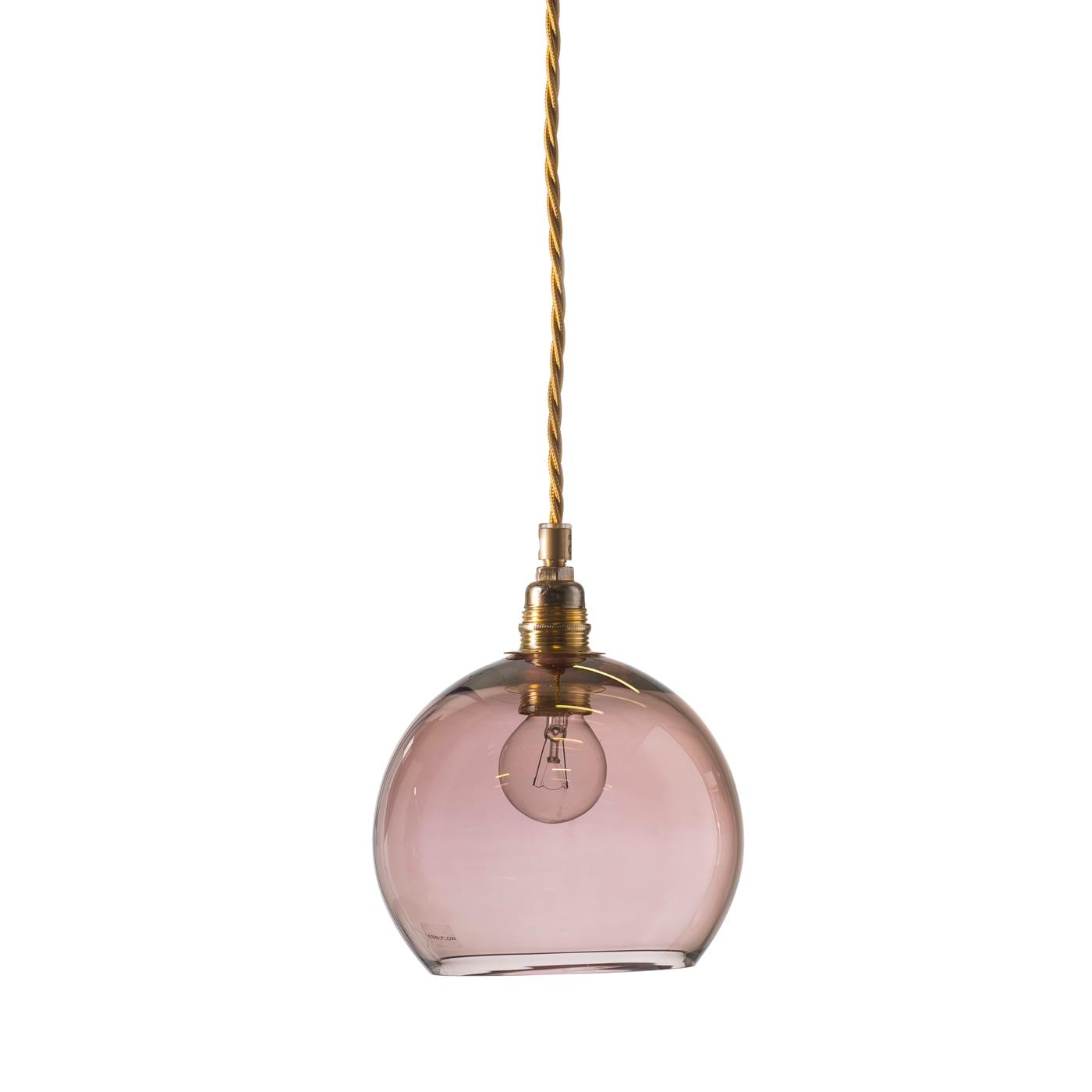 Rowan pendant lamp, obsidian, 15cm 1