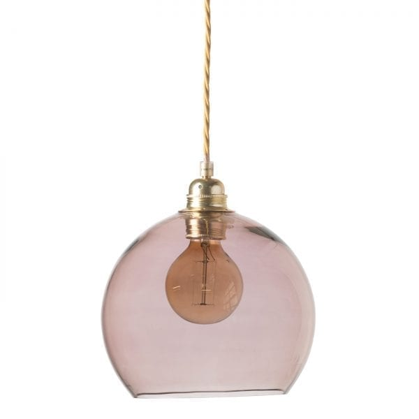 Rowan pendant lamp, obsidian, 22cm 1