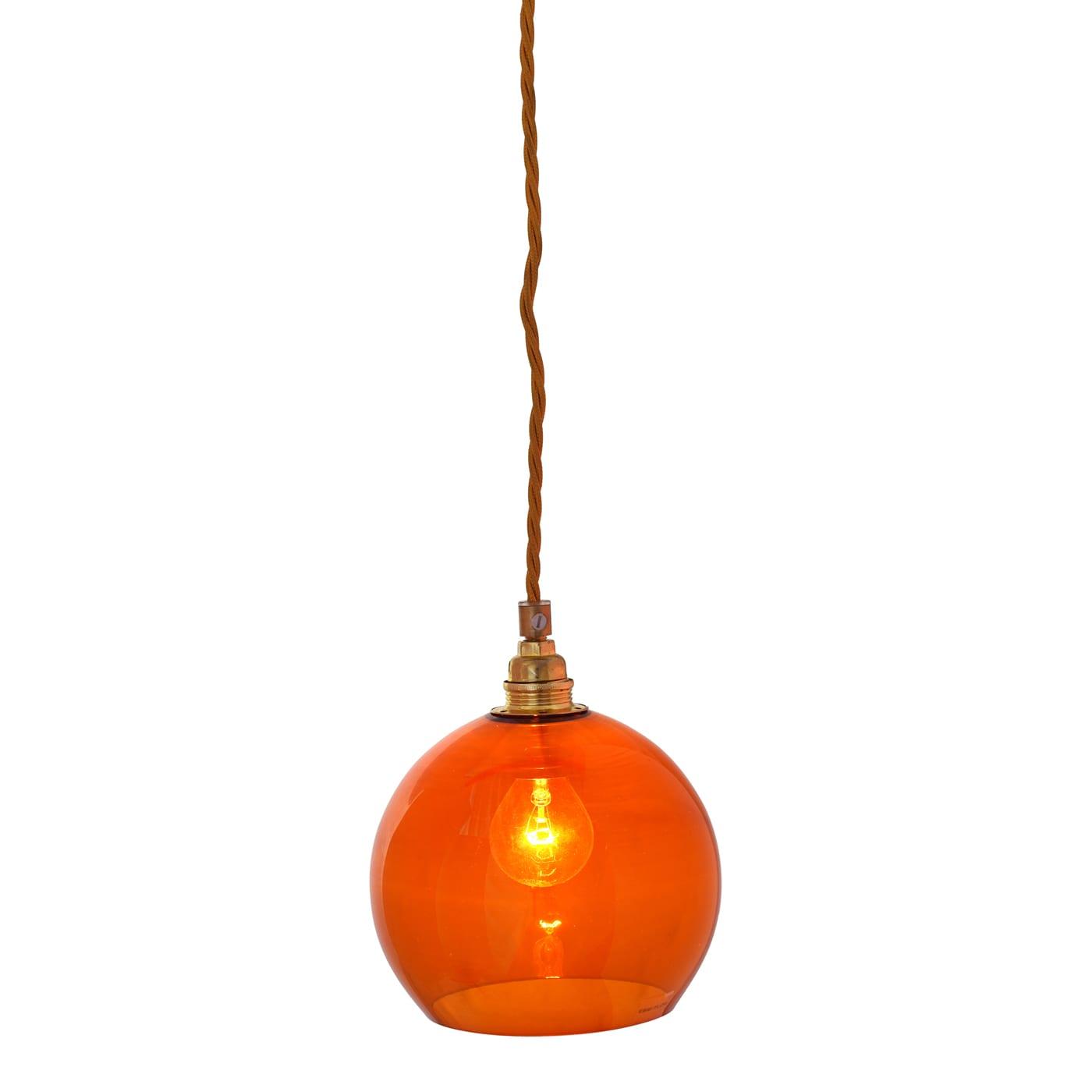 Rowan pendant lamp, rust, 15cm