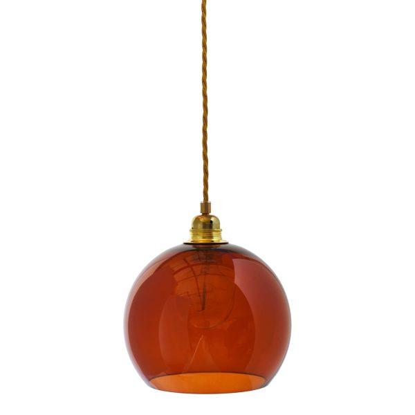 Rowan pendant lamp, rust, 22cm 1