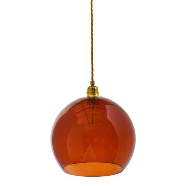 Rowan pendant lamp, rust, 28cm 1
