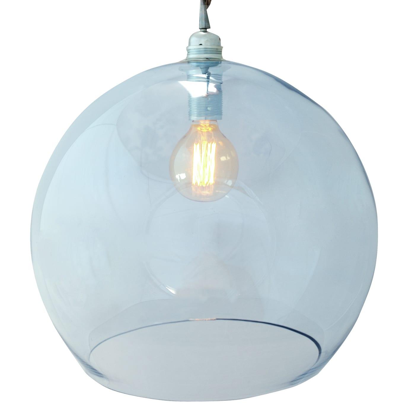 Rowan pendant lamp, topaz blue, 39cm 1