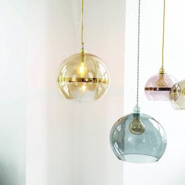 Rowan Pendant Lamp 22cm Stripe