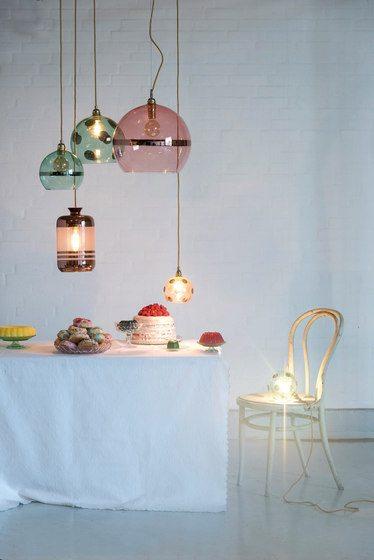 Rowan Pendant Lamp 28cm Colour Variations