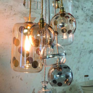 Rowan Pendant Lamp 28cm Dots