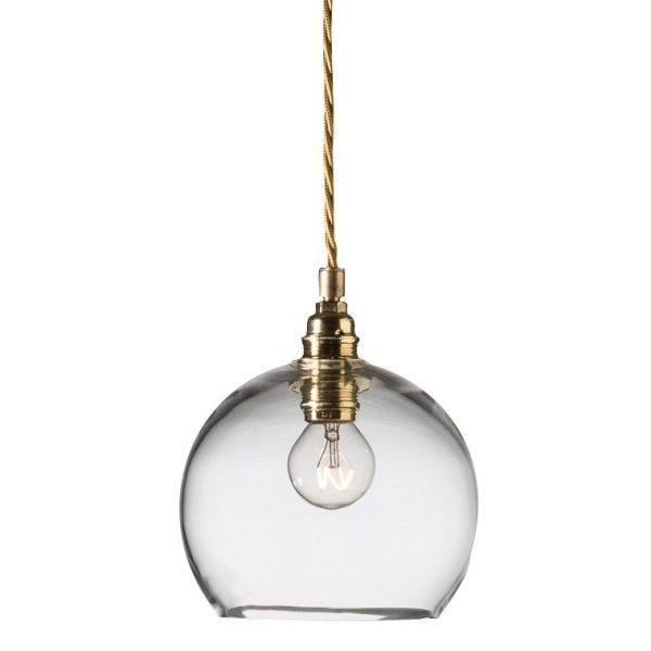 Rowan Pendant Lamp 15cm Clear