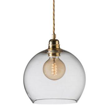 Rowan Pendant Lamp 22cm Clear