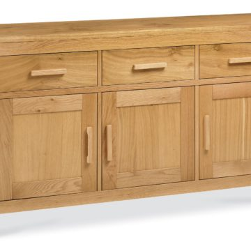 Lyon Oak Wide Sideboard