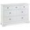 Hampstead White 3 x 4 Drawer Chest