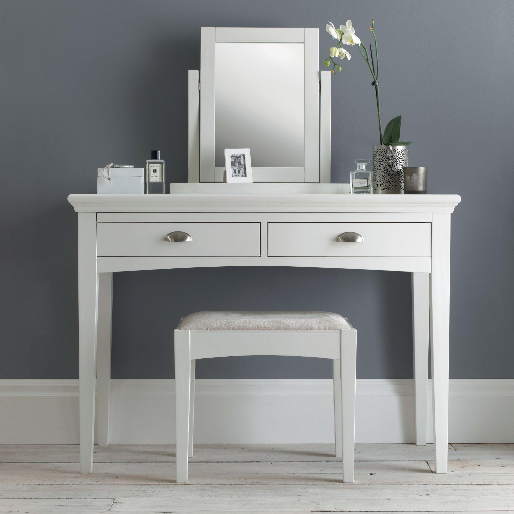 hampstead white dressing table haven furniture. Black Bedroom Furniture Sets. Home Design Ideas