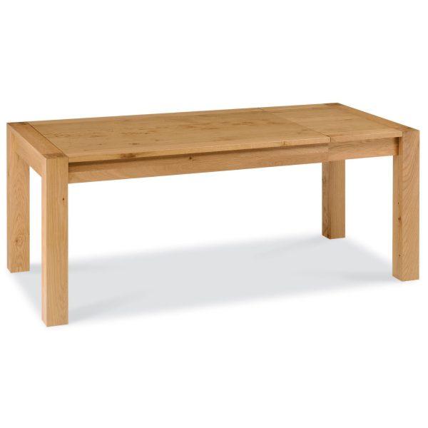 Lyon Oak 6 to 8 End Extension Table