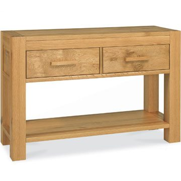 Lyon Oak Console Table