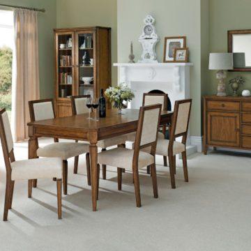 Sophia Oak 6-8 Extension Dining Table