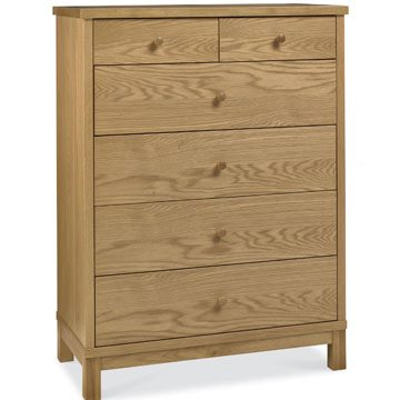 Atlanta Oak 4+2 Drawer Chest
