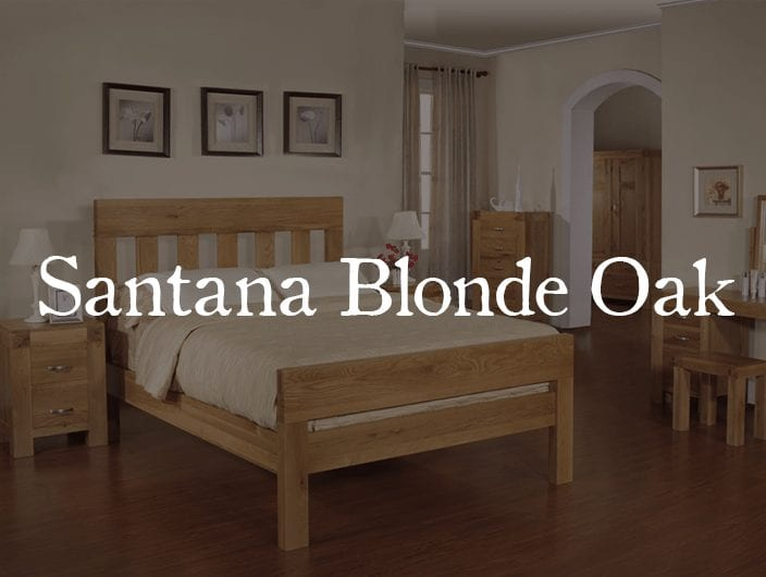 Santana Blonde Oak furniture collection is made from reclaimed oak recovered from the demolition of old buildings and has a wonderful, rustic character and a rich patina built up by hand finishing. Santana Blonde Oak furniture is crafted from solid light oak and high-quality oak veneers and is finished with a soft sheen lacquer which protects the surface.