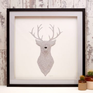 'Beige Prince Of The Forest' Stag Collection
