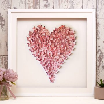 'Cottage Pink' Heart Collection