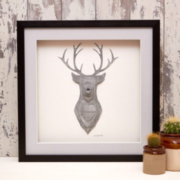 'Grey Tartan' Stag Collection