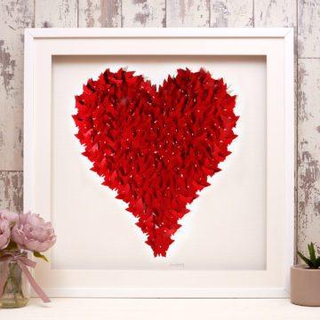 'Love Heart Red' Heart Collection