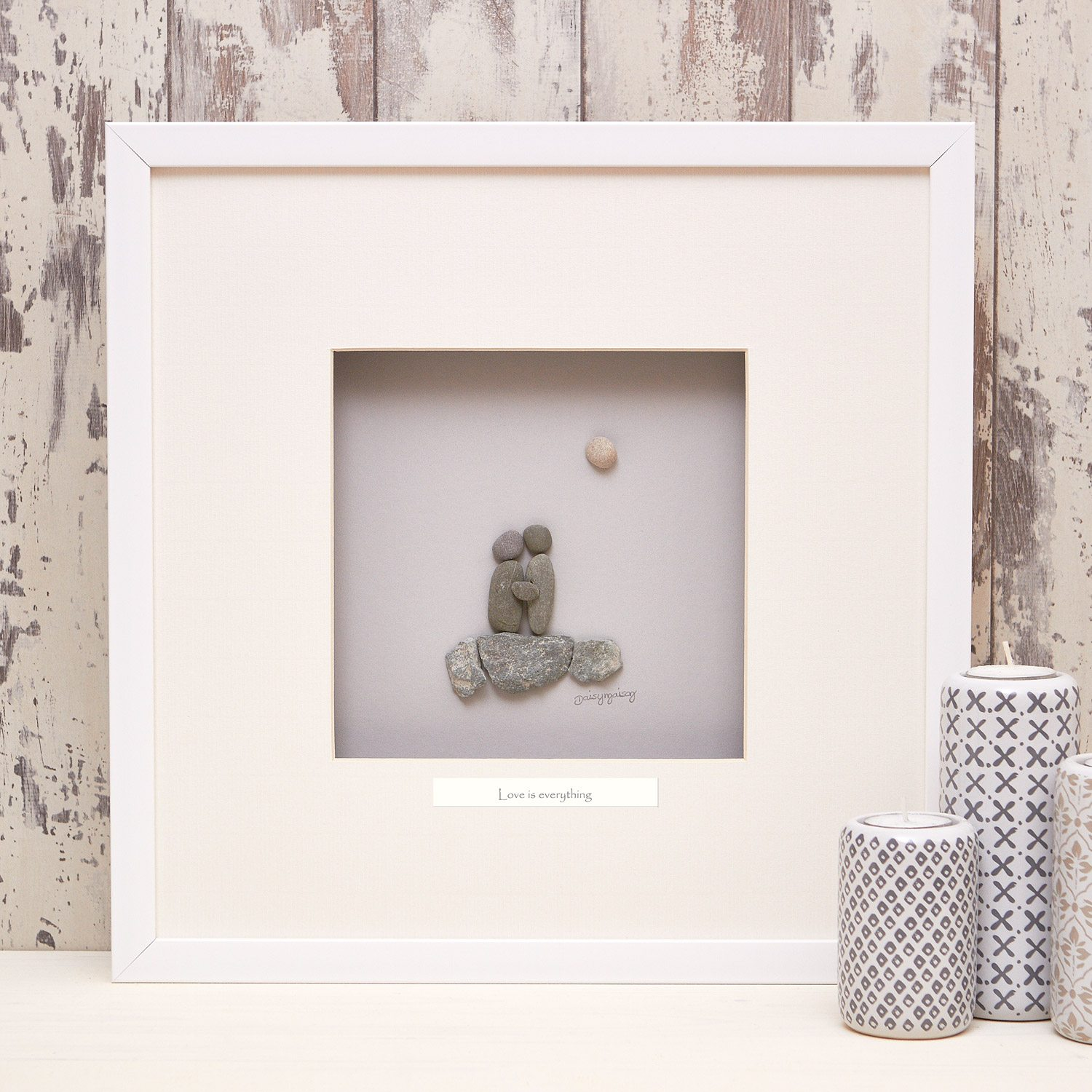 Love Is Everything Pebble Picture The Haven Home Interiors