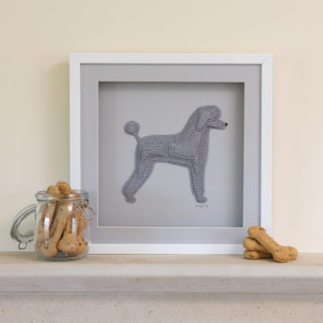 'This Home Is Filled With Kisses, Wagging Tails, Wet Noses And Love' Poodle Pooch Collection