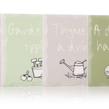 Set of 4 Square Gardeners Coasters