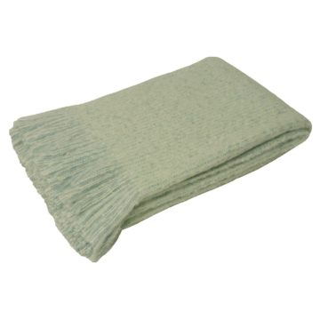 Azure Mint Throw