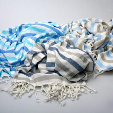 Briemba Navy & Grey Towel