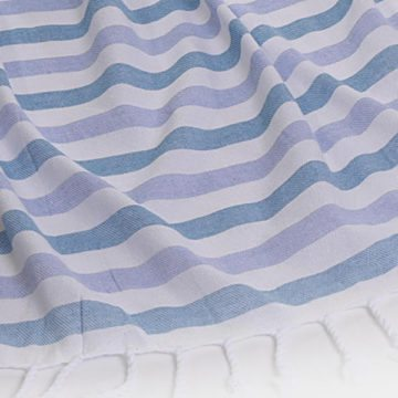 Briemba Turquoise & Blue Towel