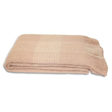 Cairngorm Pink Throw