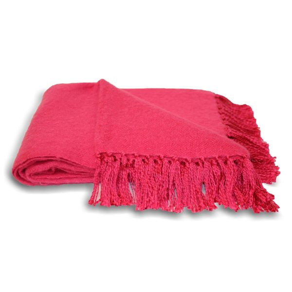 Chiltern Fuchsia Throw