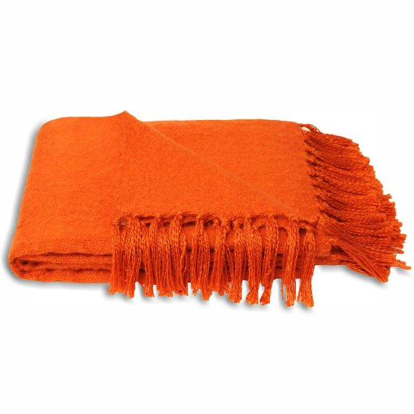 Chiltern Orange Throw