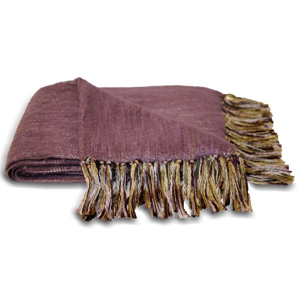 Chiltern Plum Throw