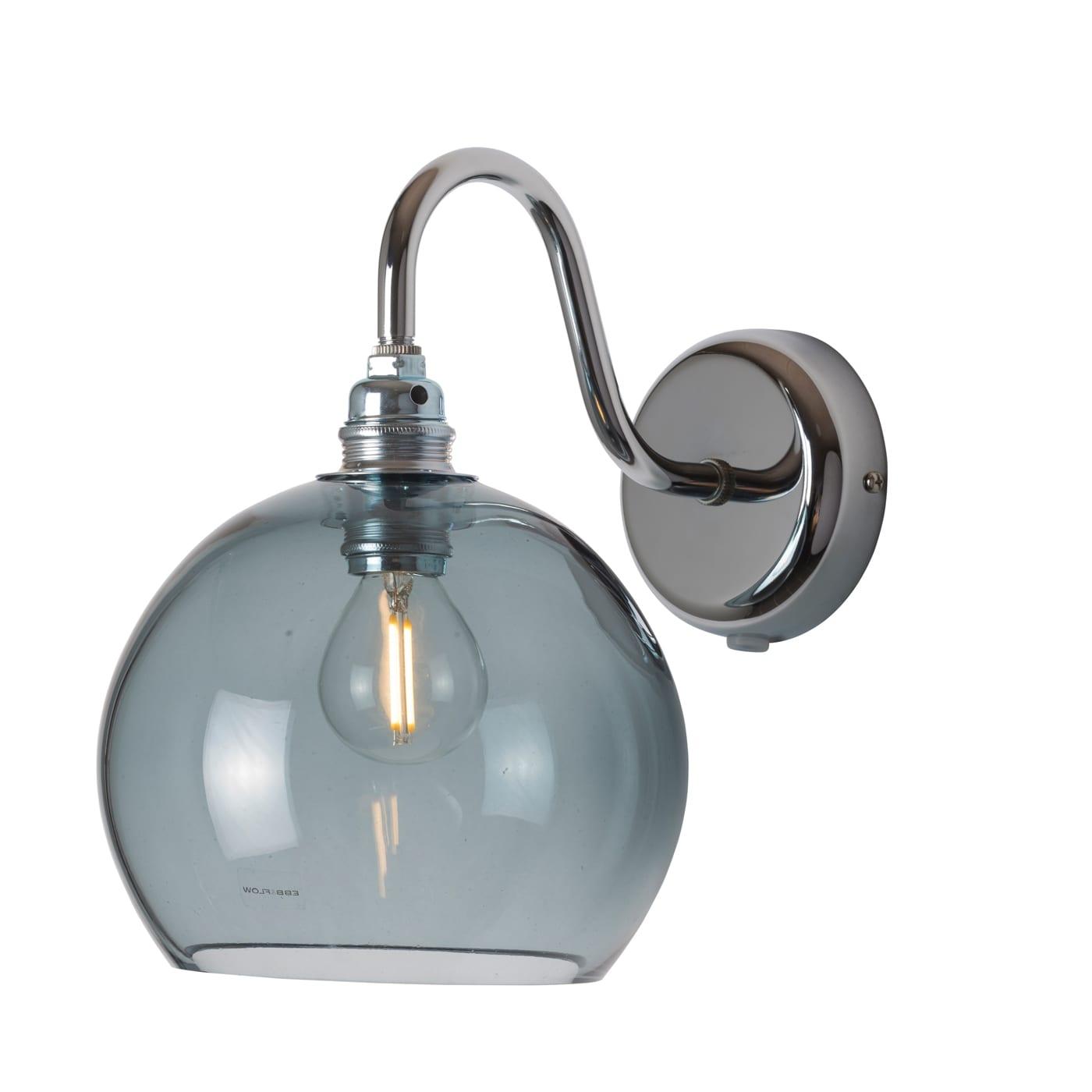 Rowan Wall Lamp, Forest Green, 15cm