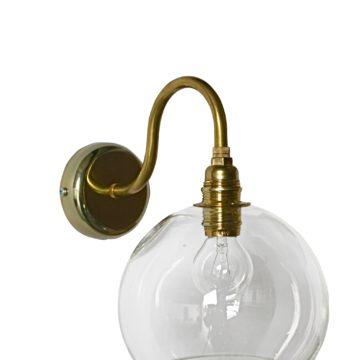 Rowan Wall Lamp, Golden Smoke