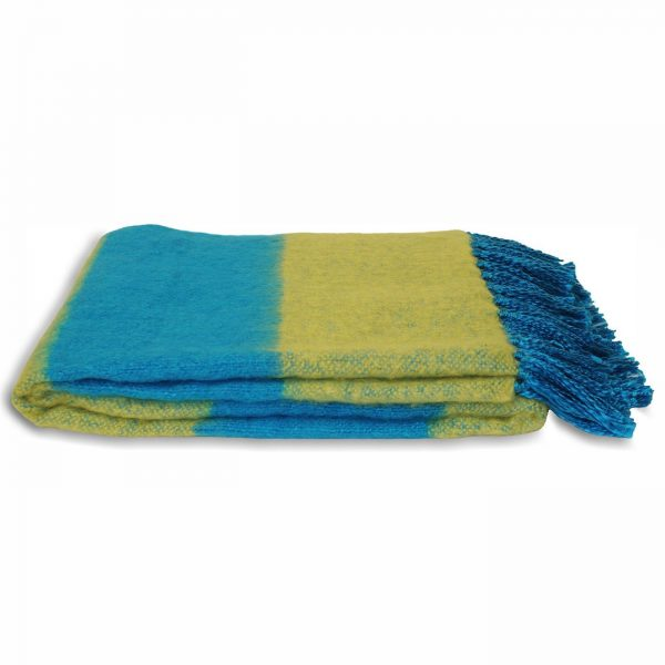 Twizzle Blue & Twizzle Blue & Green Throw Throw