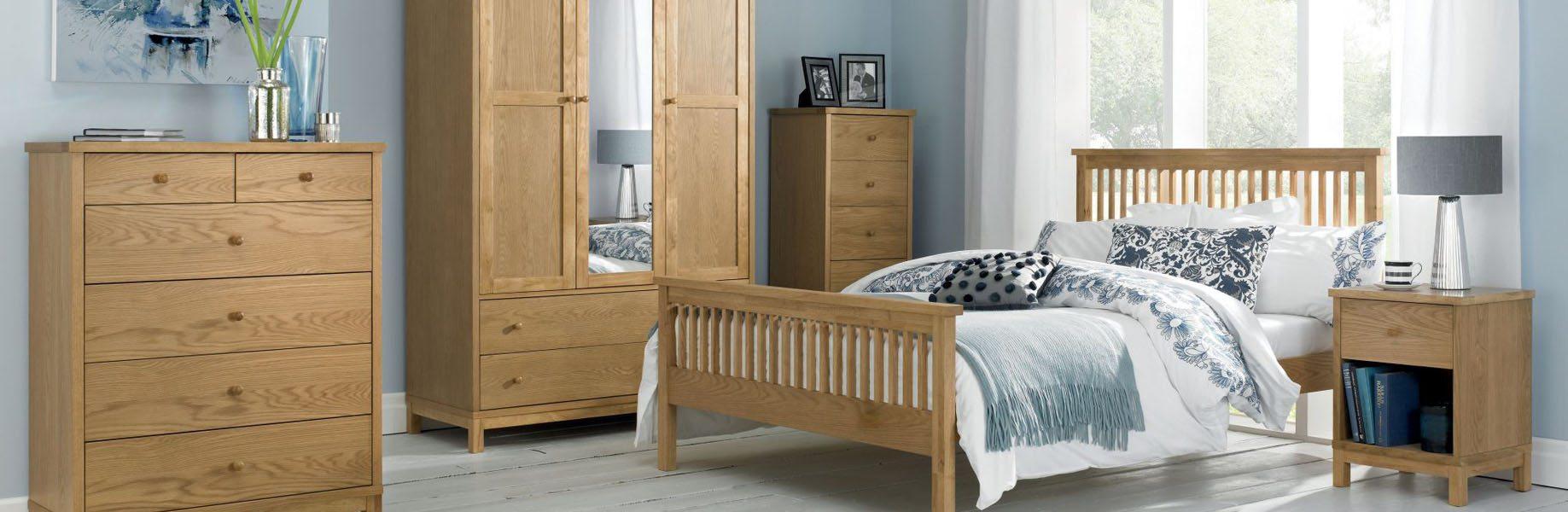 Lyon Oak Bedroom Furniture The Haven Home Interiors Havenfurniturecouk Furniture