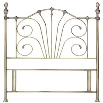 Antique Brass Rebecca Headboard