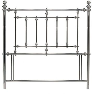 Antique Nickel Imperial Headboard